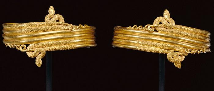 Браслеты IV-III в. до н. э.