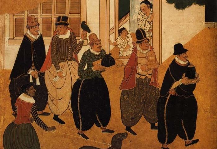 Искусство жарить рыбу и носить рубашки: как средневековая Япония чуть не повернулась лицом к Европе.